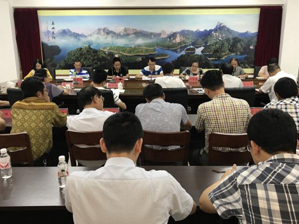 漳州:常山华侨经济开发区原书记,主任任期经济责任审计进点会召开
