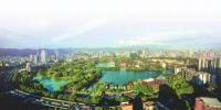 有福之州:湖在城中,城在湖中。 赵建明 摄 - 福建新闻