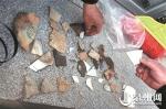 从遗址中发现的陶瓷残片 - 新浪