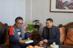 """佳节情浓 关怀暖心 ──省水利厅开展为老同志""""迎新春、送温暖""""活动 - 水利厅"""