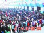 ▲2003年厦门火车站春运第一天 - 新浪