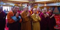 """中国佛教协会代表团赴蒙古出席中国雍和宫捐赠蒙古达希乔伊林寺弥勒大佛开光仪式暨""""库伦弥勒·慈悲""""国际学术研讨会 - 佛教在线"""