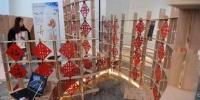 8月12日,第六届海峡青年节的集中活动之一的海峡两岸大学生实体建构大赛在福州举行,共吸引了15所高校140名青年学子参赛。台湾科技大学作品《一念晃晃》张斌摄。 - 福建工程学院