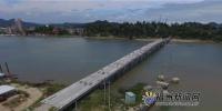 壶江大桥预计今年10月底通车。 - 新浪