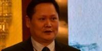 福建省委宣传部副部长、省政府新闻办主任陈立华在启动仪式上致辞。(陈伟 摄) - 福建新闻