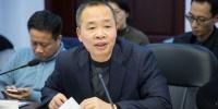 詹仁光表示,南平市将积极培育军民融合项目,进一步优化充实军民融合企业目录。李南轩 摄 - 福建新闻