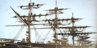 """1872年,福建船政建成第一艘木质巡洋舰,是中国第一支海军舰队——福建海军的旗舰。图为""""扬武""""号巡洋舰。 - 福建新闻"""