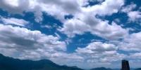 """7月17日,受台风""""丹娜丝""""外围影响,福州上空云彩变幻莫测。中新社记者 王东明 摄 - 福建新闻"""