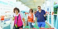 马耳他籍豪华邮轮靠泊厦门港 近千外国游客乐游厦门 - 新浪