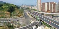 福州南台大道南段最后一条匝道建成 今晚开放通车 - 新浪
